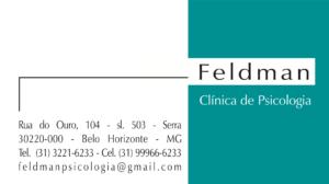 Feldman - Clínica de Psicologia